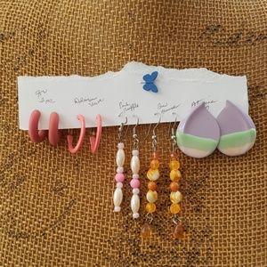 Bundle of Vintage Earrings